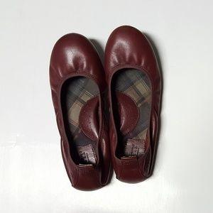 Born Tami ballet flats burgundy leather 7